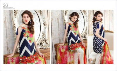 Charizma Embroidered Lawn Collection Vol 4