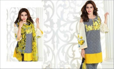 Embroidered Lawn Collection Vol 4