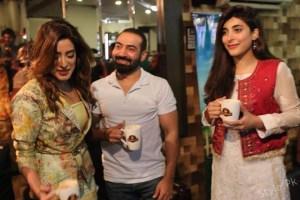 "Humayun Saeed's Birthday with cast of ""Mein Punjab Nahi Jaun Gi"""