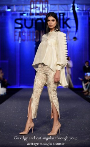 Attractive Bottom Style in Pakistan Fashion