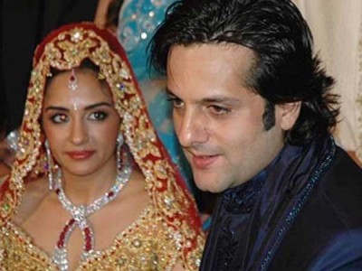 Fardeen Khan and Nitasha Madhwani