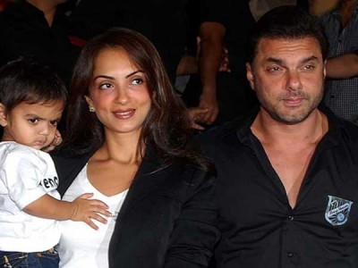 Sohail Khan and Seema Suchdev