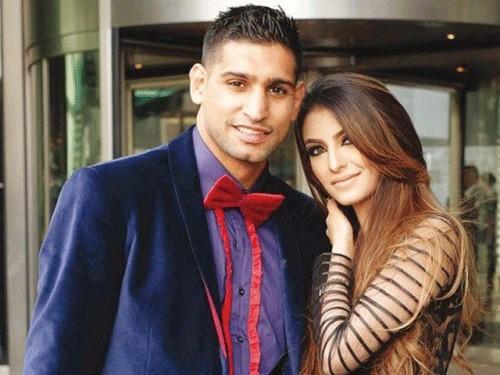 British Boxer Amir Khan and Faryal Makhdoom