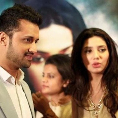 Atif Aslam and Mahira Khan