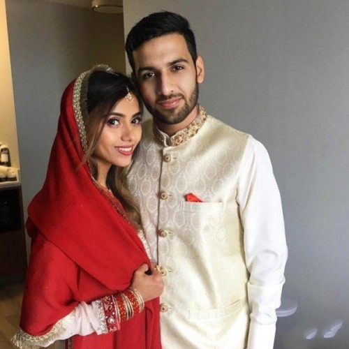 Zaid Ali and his Wife