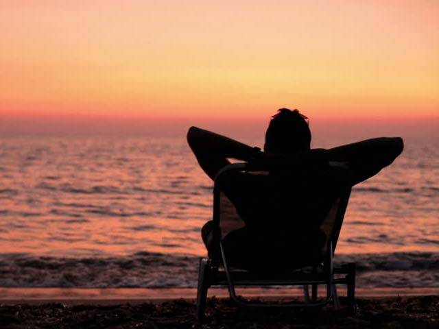 Spending Time On Seaside Reduces Tension