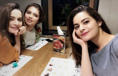 Aiman Khan, Aiman Khan and Hanish Qureshi