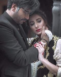 Humayun Saeed and Mehwish Hayat Photo Shoot
