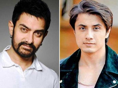 Amir Khan and Ali Zafar