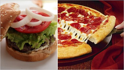 Burger and Pizza Cause Cancer