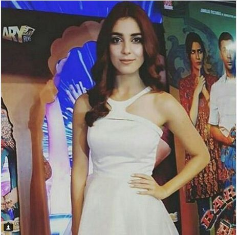 Maya Ali in Lux Movie Night