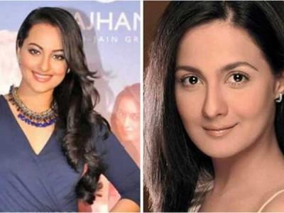 Sonakshi Sinha and Pooja Ropal