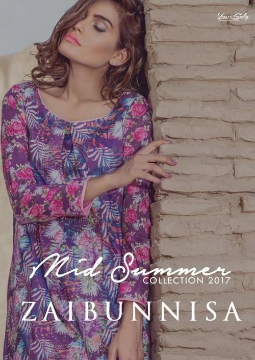 Zaibunnisa Midsummer Women Collection 2017