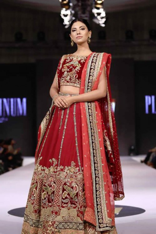 Tena Durrani Bridal Collection at FPW 2017
