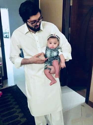Junaid Jamshed Grand Daughter Pictures