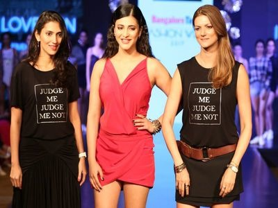 Indian Bangalore Fashion Week 2017