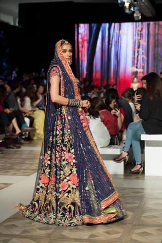 Nomi Ansari Bridal Collection PDFC Paris Bridal Week 2017