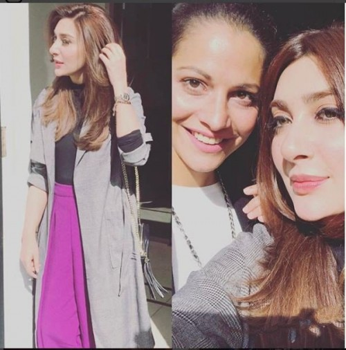 Ayesha Khan in London Pictures