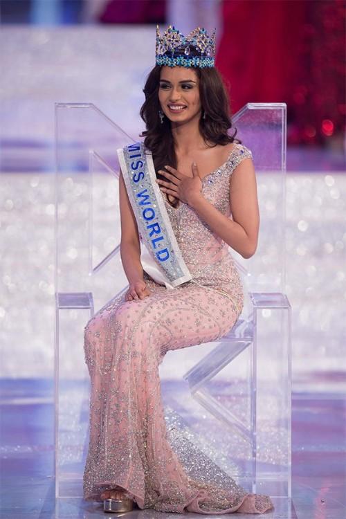 Manushi Chhillar Won The Miss World Crown