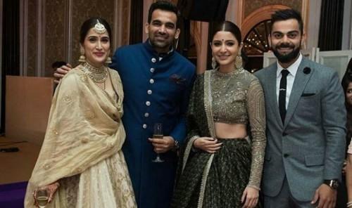 Kohli and Anushka Sharma