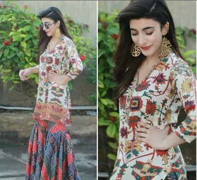 Urwa Hocane Traditional Look For Rangreza Promotion