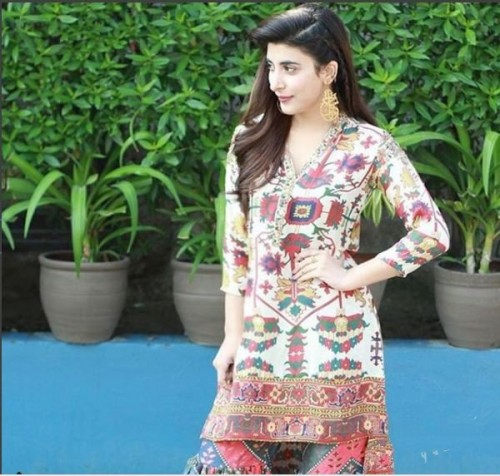 Urwa Hocane Traditional Look For Rangreza Promotion