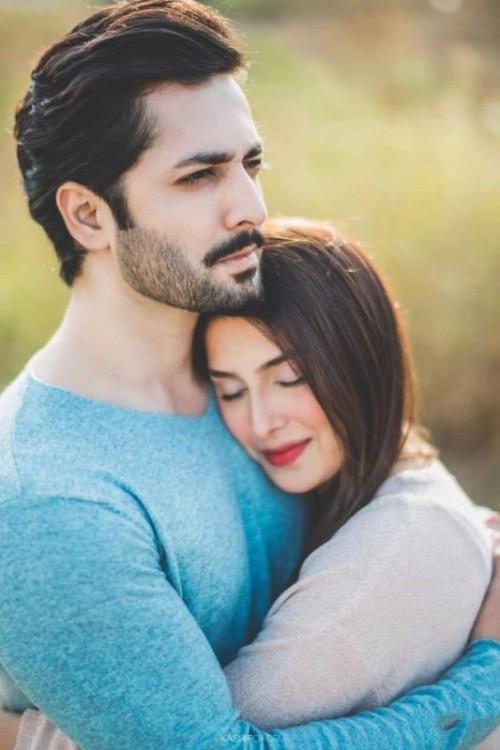 Ayeza Khan and Danish Taimoor Beautiful Photoshoot