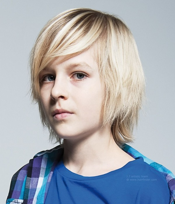 Top Trendy Kids Winter Hairstyles Long Hairstyle With Straight Bangs boys hairstyle - Fashion Trends