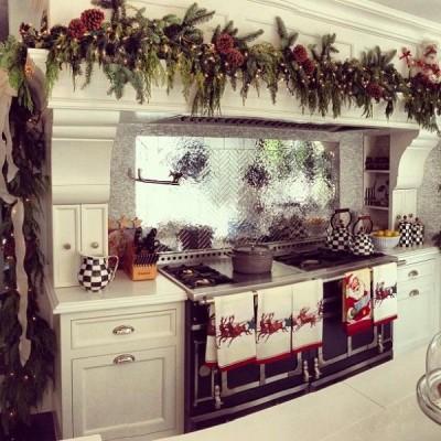kitchen decorations winter decorations