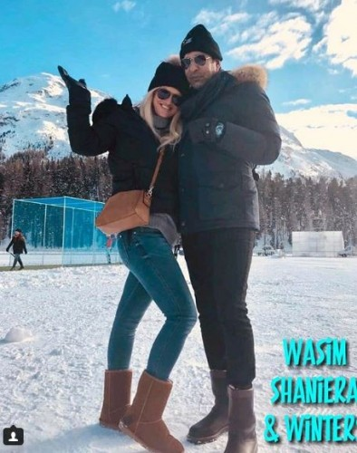 wasim akram and his wife
