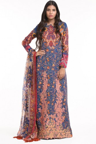 Alkaram Embroidered Dresses