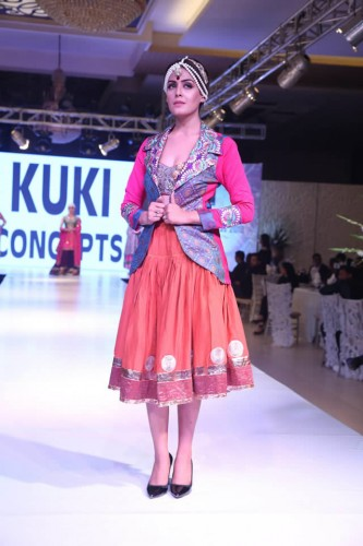 Kuki Concept latest formal dresses 2018