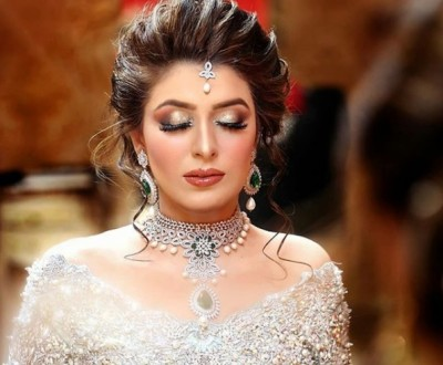 Latest Pakistani Bridal Hairstyles 2018 6