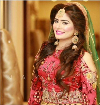 Latest Pakistani Bridal Hairstyles 2018 8