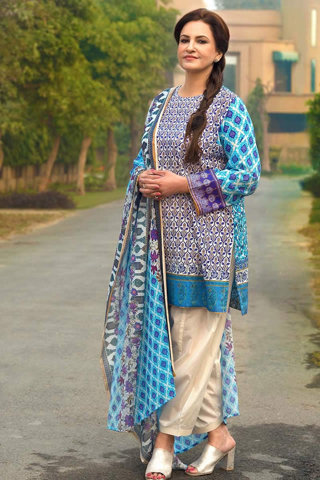 Premium summer lawn collection 2018 by gul ahmed fashion 2017 Pakistan fashion and style collection