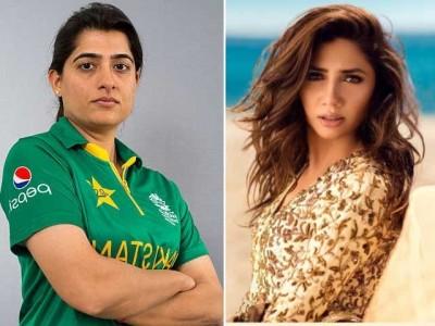 Sana Mir and Mahira Khan