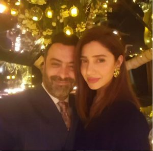 mahira at birthday