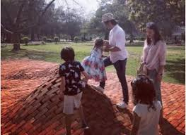 Ali Zafar With Family