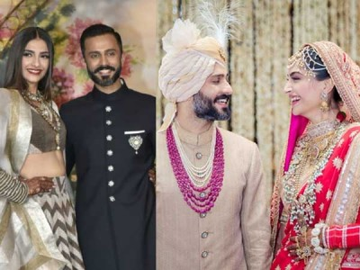 Anand Ahuja With Sonum Kapoor