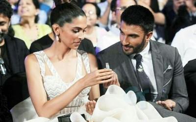 Ranveer with Deepika