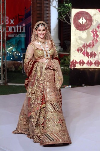 Rimple and Harpreet Narula new bridal dresses