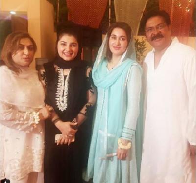Shaista Loadhi with Shabbir Jan & Javeria Saud