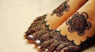 feet Mehandi Design