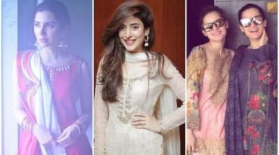 Actors Celebrating Eid