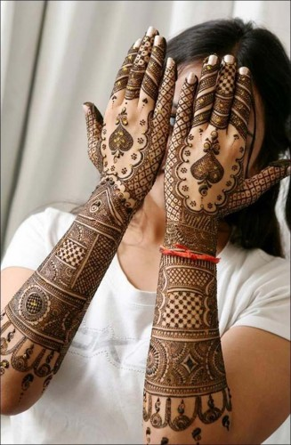 important Mehndi Design8
