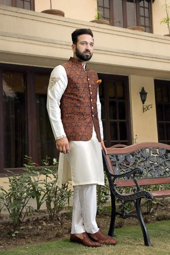 Shameel Khan Festive Eid Kurta & Waistcoat Collection