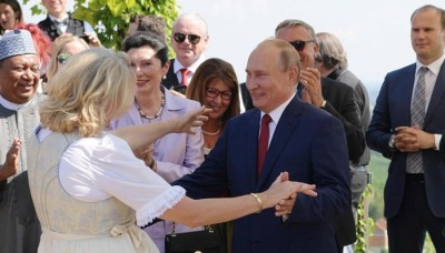 Putin danced with Austrian FM on Her Marriage