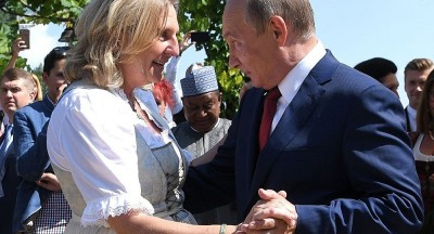 Putin danced with Austrian FM on Her Marriage 9