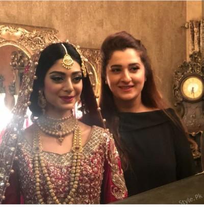 Noor Khan Gorgeous Bridal Look 2