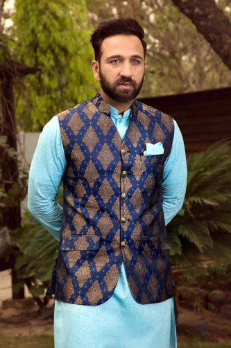 Shameel Khan Festive Eid Kurta & Waistcoat Collection 5